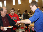 St. Joseph Catholic Church's Souper Bowl of Caring benefit for St. Vincent de Paul Society