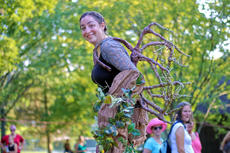 "<div class=""source"">KACIE GOODE/The Kentucky Standard</div><div class=""image-desc"">A tree roams around Bernheim last Saturday during the ninth annual Connect event at Lake Nevin.</div><div class=""buy-pic""><a href=""/photo_select/88757"">Buy this photo</a></div>"