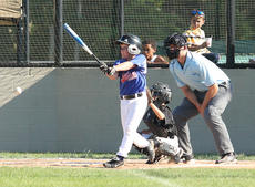 """<div class=""""source"""">Peter W. Zubaty</div><div class=""""image-desc"""">Jerek Kelly of the Nelson County 7/8-year-old All-Stars 'A' squad rips a single Wednesday during an 11-1 win over Valley Sports. For scores and schedule, see page A11.</div><div class=""""buy-pic""""><a href=""""/photo_select/28001"""">Buy this photo</a></div>"""