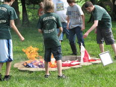 "<div class=""source""></div><div class=""image-desc"">4-H members Bryce Reter, Nickolas Bowman and Tyler Bowman place a flag in the fire pit as part of a U.S. flag retirement ceremony.</div><div class=""buy-pic""><a href=""/photo_select/28823"">Buy this photo</a></div>"