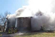 "<div class=""source"">ERIN L. MCCOY/The Kentucky Standard</div><div class=""image-desc"">The Bardstown-Nelson County Fire Department worked to extinguish a house fire at 4655 Louisville Road to which they were called just before noon March 2. </div><div class=""buy-pic""><a href=""/photo_select/23995"">Buy this photo</a></div>"