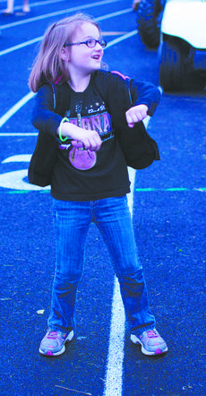 """<div class=""""source"""">RANDY PATRICK/The Kentucky Standard</div><div class=""""image-desc"""">Kennedy Owens had some good moves as she danced to a hip hop beat at the Relay.</div><div class=""""buy-pic""""><a href=""""/photo_select/47047"""">Buy this photo</a></div>"""
