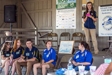 "<div class=""source"">KACIE GOODE/The Kentucky Standard</div><div class=""image-desc"">Six teens took part in the public speaking contest for Nelson County Ag Day Saturday.</div><div class=""buy-pic""><a href=""/photo_select/87421"">Buy this photo</a></div>"
