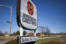 """<div class=""""source"""">FORREST BERKSHIRE/The Kentucky Standard</div><div class=""""image-desc"""">The entrance to the American Greetings Bardstown facility, which on Tuesday morning announced it would close by early next year. The plant opened in 1983.</div><div class=""""buy-pic""""><a href=""""/photo_select/93553"""">Buy this photo</a></div>"""