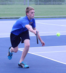 "<div class=""source"">Peter W. Zubaty</div><div class=""image-desc"">Bethlehem's Adam Rogers is the Eagles' No. 1 singles player and a freshman to watch after getting all the way to the boys' district singles finals last year as a middle-schooler.</div><div class=""buy-pic""></div>"