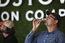 """<div class=""""source"""">FORREST BERKSHIRE/The Kentucky Standard</div><div class=""""image-desc"""">Joe Heron, President and CEO of Copper & Kings American Brandy Company, tastes a sample of Collabor&tion, the product developed with Bardstown Bourbon Company and introduced for the first time Friday.</div><div class=""""buy-pic""""><a href=""""/photo_select/89286"""">Buy this photo</a></div>"""