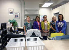 """<div class=""""source"""">KACIE GOODE/The Kentucky Standard</div><div class=""""image-desc"""">Lesley Greathouse; Felicia Flanagan, RN; Diane Cardin, APRN; Rheta Lyddane, LPN and Jill Downey all help run the Bardstown City Schools health clinic, which has seen success in its first year.</div><div class=""""buy-pic""""><a href=""""/photo_select/85724"""">Buy this photo</a></div>"""
