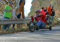 "<div class=""source"">KACIE GOODE/The Kentucky Standard</div><div class=""image-desc"">A racer takes part in the Cissal Hill Big Wheel Race Sunday in New Haven.</div><div class=""buy-pic""><a href=""/photo_select/91244"">Buy this photo</a></div>"