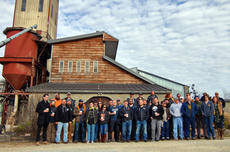 "<div class=""source"">KACIE GOODE/The Kentucky Standard</div><div class=""image-desc"">Kentucky craft brewers and distillery representatives gather for a photo Monday morning at Willett Distillery.</div><div class=""buy-pic""><a href=""/photo_select/91568"">Buy this photo</a></div>"