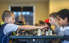 "<div class=""source"">KACIE GOODE/The Kentucky Standard</div><div class=""image-desc"">Kameryn Head makes a move against John Yocum Saturday during the Bardstown Optimist Club chess tournament at the Nelson County Public Library.</div><div class=""buy-pic""><a href=""/photo_select/83105"">Buy this photo</a></div>"