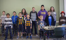 "<div class=""source"">KACIE GOODE/The Kentucky Standard</div><div class=""image-desc"">Kids elementary to high school competed for three hours Saturday afternoon in the fifth annual Bardstown Optimist Club Groundhog Day Chess Tournament at the Nelson County Public Library.</div><div class=""buy-pic""><a href=""/photo_select/83107"">Buy this photo</a></div>"
