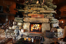 """<div class=""""source"""">SPENCER JENKINS/The Kentucky Standard</div><div class=""""image-desc"""">D.L. and Virginia Chowning's barn houses a stone staircase incorporated into the massive fireplace as one unit leading to the upstairs bedrooms. The home was completed in 1998.</div><div class=""""buy-pic""""><a href=""""/photo_select/43275"""">Buy this photo</a></div>"""