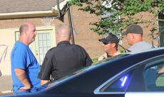"""<div class=""""source"""">RANDY PATRICK/The Kentucky Standard</div><div class=""""image-desc"""">A resident talks with state, county and city law enforcement officers about an accident Monday that injured a 2-year-old boy. Police are still looking for the hit-and-run driver and are asking for the public's assistance in solving the case.</div><div class=""""buy-pic""""><a href=""""/photo_select/66910"""">Buy this photo</a></div>"""