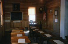 "<div class=""source"">Courtesy of Carrie Stivers</div><div class=""image-desc"">The building features a replica of an early 20th century classroom.</div><div class=""buy-pic""></div>"