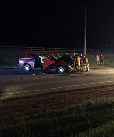 "<div class=""source"">TREY CRUMBIE/The Kentucky Standard</div><div class=""image-desc"">First responders extract a man from a red pickup after he struck a combine on Boston Road Wednesday night. The man was flown to the University of Louisville Hospital. He did not survive his injuries. </div><div class=""buy-pic""><a href=""/photo_select/69732"">Buy this photo</a></div>"