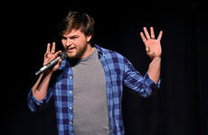 "<div class=""source"">KACIE GOODE/The Kentucky Standard</div><div class=""image-desc"">Matt Bulka is a chemistry teacher by day and stand up comedy by night. The Thomas Nelson teacher had a guest spot at Saturday's FUNdraising with Laughter event, which supports Project Lift Off.</div><div class=""buy-pic""><a href=""/photo_select/93518"">Buy this photo</a></div>"