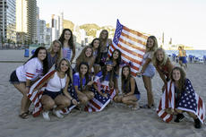 """<div class=""""source"""">PHOTO SUBMITTED</div><div class=""""image-desc"""">Bethlehem junior-to-be Jordan Cross (front row, second from left) and her Kentucky teammates represented the United States in youth soccer tournament competition in Spain earlier this month. Cross is a two-year starter and standout on defense for Bethlehem.</div><div class=""""buy-pic""""></div>"""