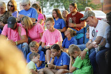"""<div class=""""source"""">KACIE GOODE/The Kentucky Standard</div><div class=""""image-desc"""">Family members comfort each other during a prayer service for Crystal Rogers Tuesday.</div><div class=""""buy-pic""""><a href=""""/photo_select/77551"""">Buy this photo</a></div>"""