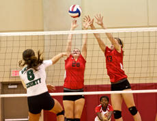 """<div class=""""source"""">Peter W. Zubaty</div><div class=""""image-desc"""">Senior Kristen Curtsinger (28) and sophomore Kira Harman (13) return as part of an experienced Nelson County group looking to make a bid for a region title.</div><div class=""""buy-pic""""></div>"""