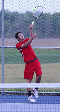"""<div class=""""source"""">Peter W. Zubaty</div><div class=""""image-desc"""">Senior Daniel Spalding is one of Nelson County's top returnees. He teams with junior David Chan in doubles.</div><div class=""""buy-pic""""></div>"""