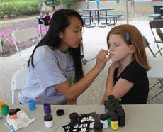 """<div class=""""source"""">RANDY PATRICK/The Kentucky Standard</div><div class=""""image-desc"""">Patience Stinnett, 10, gets her face painted by Mia Pardieu Saturday at the Flaget Community Health and Wellness Fair.</div><div class=""""buy-pic""""><a href=""""/photo_select/89925"""">Buy this photo</a></div>"""