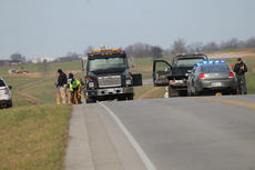 "<div class=""source"">RANDY PATRICK/The Kentucky Standard</div><div class=""image-desc"">State police investigators worked on reconstructing the accident scene on U.S. 31E Sunday afternoon following a crash that claimed the lives of three men and seriously injured one other.</div><div class=""buy-pic""><a href=""/photo_select/72125"">Buy this photo</a></div>"