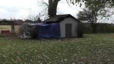 """<div class=""""source""""></div><div class=""""image-desc"""">According to the Bardstown Fire Department, a Bardstown man, Ivo Mudd, died Friday afternoon when this shed burned on Sunset Drive.</div><div class=""""buy-pic""""><a href=""""/photo_select/90857"""">Buy this photo</a></div>"""