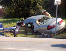 "<div class=""source"">TREY CRUMBIE/The Kentucky Standard</div><div class=""image-desc"">Several emergency crews responded to a two-vehicle accident Friday at 9 a.m. on Springfield Road in Bloomfield. The accident caused the drivers of both vehicles to be transported to the University of Louisville. </div><div class=""buy-pic""><a href=""/photo_select/68114"">Buy this photo</a></div>"