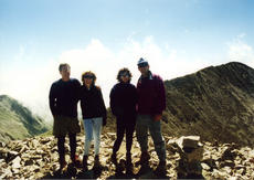 "<div class=""source"">PHOTO COURTESY OF GENE CULVER</div><div class=""image-desc"">Jack and Ellen Hume, left, of Lexington, joined Bonnie and Gene Culver in 1996 for a climb of 14,155-foot Tabeguache Peak in Colorado. Mount Shavano is in the background.</div><div class=""buy-pic""></div>"