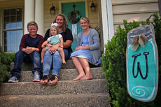 "<div class=""source"">KACIE GOODE/The Kentucky Standard</div><div class=""image-desc"">Tammi Whitney sits in front of her Bardstown home with three of her four children. Son Tre and eldest daughter Faith are currently home-schooled by Tammi. Younger sister Monika, not pictured, was away at pre-school at Crocus Academy and youngest, Aubree, is not yet in school but stays involved with her family during the day. As public and private schools gear up for a new year this month, the Whitneys' home schooling allows for a more flexible schedule and an extended summer break. </div><div class=""buy-pic""><a href=""/photo_select/78375"">Buy this photo</a></div>"