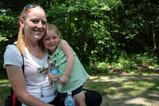 "<div class=""source"">KACIE GOODE/The Kentucky Standard</div><div class=""image-desc"">Summer Hershey and 3-year-old Kaylei Daugherty pose together for a photo after receiving their key of hopes at the Day of Hope event at We Survive's Haven of Hope in Bloomfield.</div><div class=""buy-pic""><a href=""/photo_select/66773"">Buy this photo</a></div>"