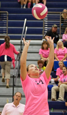 "<div class=""source"">Peter W. Zubaty</div><div class=""image-desc"">Setter Hope Spalding will be called on to help lead Thomas Nelson back from last year's four-win campaign.</div><div class=""buy-pic""></div>"