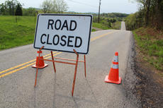 "<div class=""source"">ERIN L. MCCOY/The Kentucky Standard</div><div class=""image-desc"">KY 46 (Nat Rogers Road) was closed between mile markers 5 and 6, pictured here about 6:30 p.m. Monday. The road was one of four at risk of flooding after 2-4 inches of rain fell over the weekend. </div><div class=""buy-pic""><a href=""http://web2.lcni5.com/cgi-bin/c2newbuyphoto.cgi?pub=191&orig=hwy46_2_0.JPG"" target=""_new"">Buy this photo</a></div>"