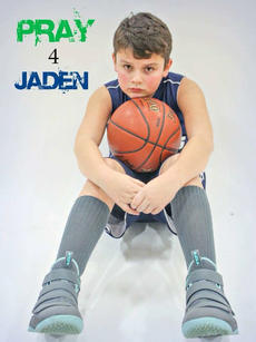 "<div class=""source"">Submitted Photo</div><div class=""image-desc"">Many have changed their profile or cover photos on social media to a portrait of Jaden Kennedy, a Foster Heights fourth-grader and basketball player injured in a car crash over the weekend. Teammates and opponents have also sported Jaden's number, 42, on their wrists or jerseys at games to show their support.</div><div class=""buy-pic""></div>"