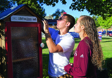 """<div class=""""source"""">PETER W. ZUBATY/The Kentucky Standard</div><div class=""""image-desc"""">Keanu Young and Lakin Walls began dating when he was a freshman at Bardstown and she was an eighth-grader at Old Kentucky Home. Now in college at Campbellsville, where Keanu plays football and Lakin plays soccer, their relationship remains strong to this day.</div><div class=""""buy-pic""""><a href=""""/photo_select/80638"""">Buy this photo</a></div>"""