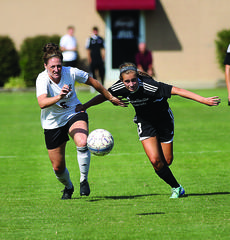 """<div class=""""source"""">CAMPBELLSVILLE UNIVERSITY SPORTS INFORMATION</div><div class=""""image-desc"""">A high-scoring forward during her time as a Nelson County Cardinal, Lakin Walls (right) has continued that trend with Campbellsville, where she's tied for the team lead in goals as of games through press time Saturday morning.</div><div class=""""buy-pic""""><a href=""""/photo_select/80640"""">Buy this photo</a></div>"""