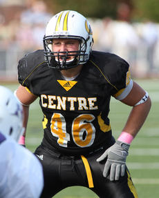"<div class=""source"">Glenn Hodge</div><div class=""image-desc"">Centre College linebacker Kent Simpson, a Bethlehem graduate, tallied 55 tackles (35 solo), including three for a loss, as well as two interceptions and a forced fumble.</div><div class=""buy-pic""></div>"