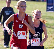 "<div class=""source"">Peter W. Zubaty</div><div class=""image-desc"">Sophomore Kelsey Hughes, left, placed sixth in the region last year and followed that up by finishing 24th in the Class 2A state meet. </div><div class=""buy-pic""></div>"