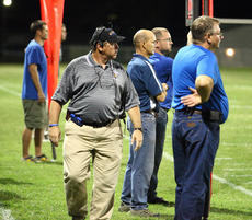 "<div class=""source"">Peter W. Zubaty</div><div class=""image-desc"">Former coaching colleagues David Clark and Ron Koontz (above) come into the playoffs with their respective teams on seemingly divergent paths. Clark and the Bardstown Tigers have won three straight going into their home contest against Metcalfe County, while Koontz, the former Bardstown assistant and current Bethlehem head coach, is hoping his team can stop its three-game skid tonight at Russellville.</div><div class=""buy-pic""><a href=""http://web2.lcni5.com/cgi-bin/c2newbuyphoto.cgi?pub=191&orig=koontz_1.JPG"" target=""_new"">Buy this photo</a></div>"