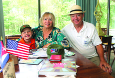 "<div class=""source"">RANDY PATRICK/The Kentucky Standard</div><div class=""image-desc"">Lyda and Fred Moore, and their grandson, Jack, 8, show some of the keepsakes from their visit to Cuba earlier this year. The Moores were on the first American cruise ship allowed to sail to Havana in more than half a century after President Barack Obama reopened relations with the Communist island nation 90 miles from Florida.</div><div class=""buy-pic""><a href=""/photo_select/78566"">Buy this photo</a></div>"