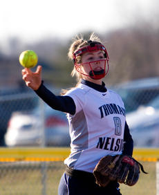 "<div class=""source"">Bruce Nichols</div><div class=""image-desc"">Morgan Robinson is one of Thomas Nelson's top hitters and already has a homer to her credit this season.</div><div class=""buy-pic""></div>"