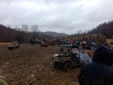 "<div class=""source"">Photo submitted</div><div class=""image-desc"">Andy Anderson's field near New Haven and New Hope was a muddy mess Saturday afternoon after four-wheelers were done with it.</div><div class=""buy-pic""></div>"