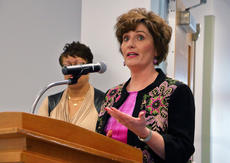 """<div class=""""source"""">KACIE GOODE/The Kentucky Standard</div><div class=""""image-desc"""">Director of Elementary Schools Ann Marie Williams proposes changes to the district's preschool operations Tuesday night at the Nelson County Board of Education's February meeting. The changes were later approved by a board vote of 3-2.</div><div class=""""buy-pic""""><a href=""""/photo_select/93212"""">Buy this photo</a></div>"""