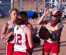 """<div class=""""source"""">Peter W. Zubaty</div><div class=""""image-desc"""">Nelson County's Katrina Boone, right, will be called on to lead a young Cardinal squad with her bat and defense.</div><div class=""""buy-pic""""></div>"""