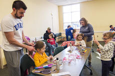 """<div class=""""source"""">KACIE GOODE/The Kentucky Standard</div><div class=""""image-desc"""">Dads and other caretakers attended a special hair class at the library Wednesday designed to teach easy and fast hairstyles.</div><div class=""""buy-pic""""><a href=""""/photo_select/84191"""">Buy this photo</a></div>"""