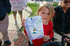 """<div class=""""source"""">KACIE GOODE/The Kentucky Standard</div><div class=""""image-desc"""">Ava Kate Hanson, 4, made her own sign for a rally for public education Wednesday afternoon in Downtown Bardstown.</div><div class=""""buy-pic""""><a href=""""/photo_select/94394"""">Buy this photo</a></div>"""