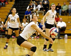"""<div class=""""source"""">Peter W. Zubaty</div><div class=""""image-desc"""">Bethlehem seniors Mollie Simms, center, and Cayla Hoehler, right, give the Banshees a versatile duo who are strong on the front line and more than capable of scrambling for balls on defense. Bethlehem is looking to win a fourth straight 19th District championship.</div><div class=""""buy-pic""""></div>"""