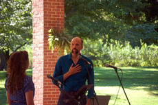 "<div class=""source"">TREY CRUMBIE/The Kentucky Standard</div><div class=""image-desc"">Cast members of ""The Stephen Foster Story"" performed a variety of songs during a free concert Sunday in the rotunda at My Old Kentucky Home State Park. Clay Smith (right) performs with Trish Epperson on a song titled ""One Second and a Million Miles"" from the musical ""The Bridges of Madison County."" </div><div class=""buy-pic""><a href=""/photo_select/68201"">Buy this photo</a></div>"