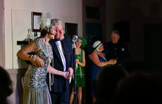 "<div class=""source"">KACIE GOODE/The Kentucky Standard</div><div class=""image-desc"">The cast performs a song Wednesday during ""Speakeasy Bourbon Style,"" an original play by Toni Wiley.</div><div class=""buy-pic""><a href=""/photo_select/89233"">Buy this photo</a></div>"