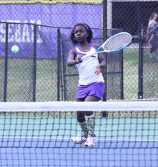 "<div class=""source"">Peter W. Zubaty</div><div class=""image-desc"">Bardstown's Selena Spencer, an eighth-grader, inherits the Tigers' top girls' singles spot from Hannah Welch, one of several key senior girls to graduate from last year's squad.</div><div class=""buy-pic""></div>"